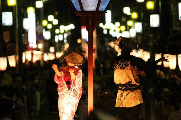 おわら風の盆 2011 3 上新町の大輪踊り_c0196076_1572754.jpg