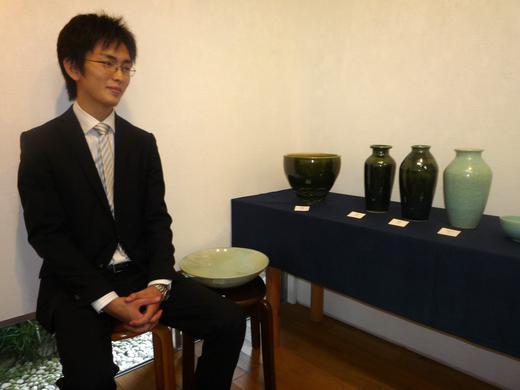 2011/9月 『陶芸三人展』~挑戦~ _e0189606_1355138.jpg