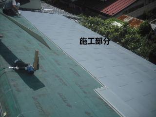 屋根工事完成_f0031037_21235695.jpg