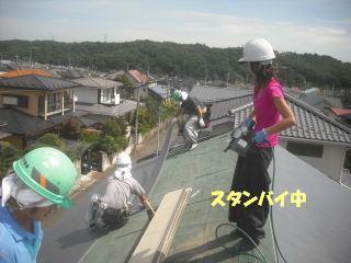 屋根工事完成_f0031037_21242392.jpg