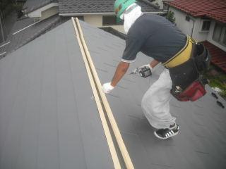 屋根工事完成_f0031037_21254999.jpg