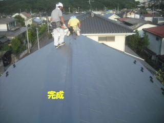 屋根工事完成_f0031037_21263579.jpg