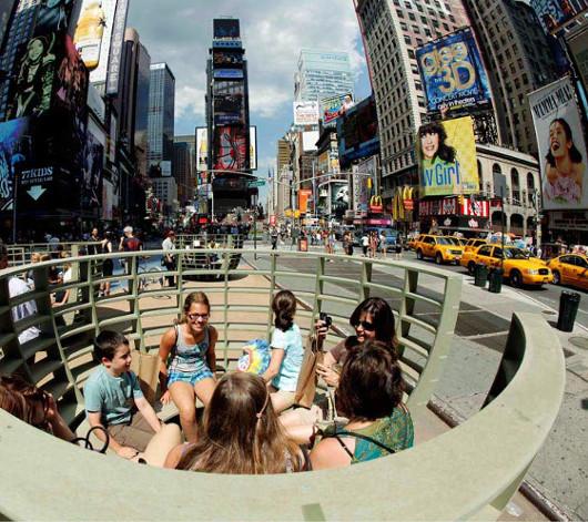 NYタイムズ・スクエアに展示中の体験型アート作品 Meeting Bowls_b0007805_0532774.jpg