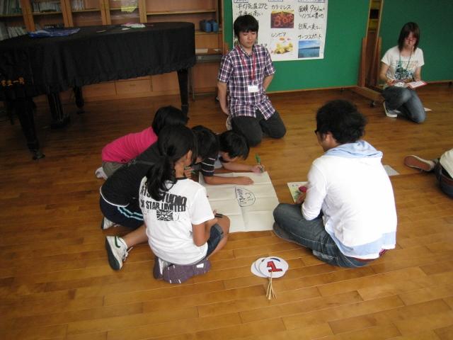 見附市立上北谷小学校で『知っとこ!私たちの関わる世界の現実』のWSを行いました。_c0167632_1761099.jpg