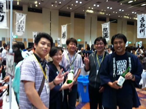『吟醸酒を味わう会』 in 札幌_e0173738_057659.jpg