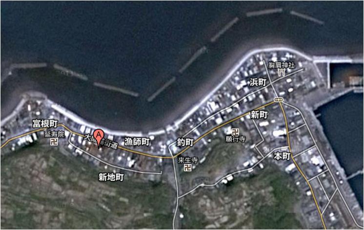 鰺ヶ沢 【安東水軍】 尾崎酒造店_f0193752_2463559.jpg