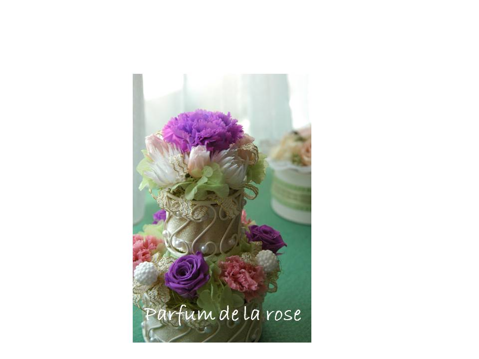 Flower cake ✿_c0222486_222982.jpg