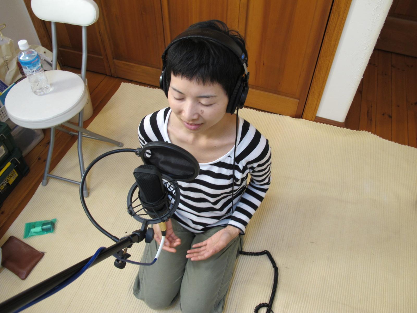 vocal録音_e0239118_18583945.jpg