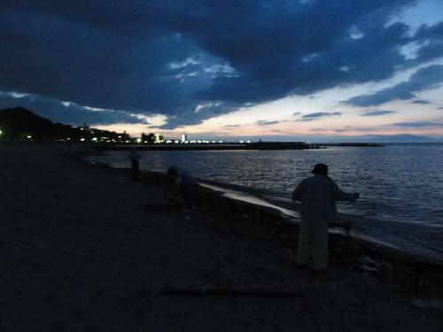 「ウミホタル観察会」リハーサル in せんなん里海公園_c0108460_22462344.jpg