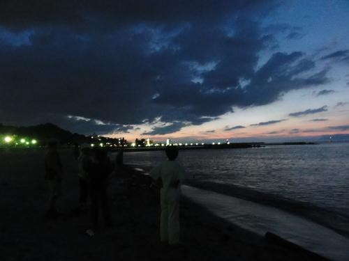 「ウミホタル観察会」リハーサル in せんなん里海公園_c0108460_22474140.jpg