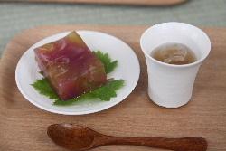 柿之屋の茶会 2011 夏の葡萄_f0018099_1161485.jpg