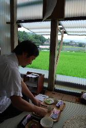 柿之屋の茶会 2011 夏の葡萄_f0018099_1185745.jpg