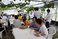 柿之屋の茶会 2011 夏の葡萄_f0018099_7524781.jpg