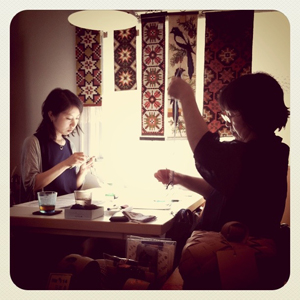 ワークショップ at 神戸MARKKA(9/10-11)、終了しました_a0157701_23143427.jpg