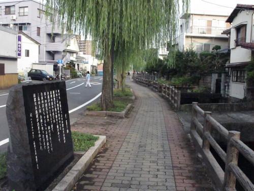 水辺の文学碑の石碑 《水の都・三島市水上通り》(11)_c0075701_5421017.jpg