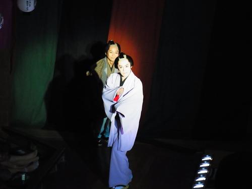 劇団夢の旅 幕内から・・・。_f0079071_12384617.jpg