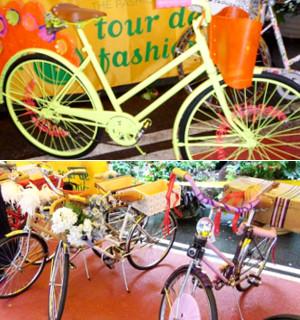 ... レンタル自転車?! Tour de Fashion
