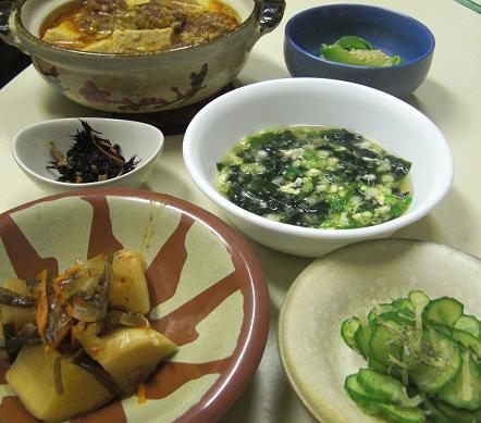 つくねと豆腐のサムジャン煮。_c0119140_13282476.jpg
