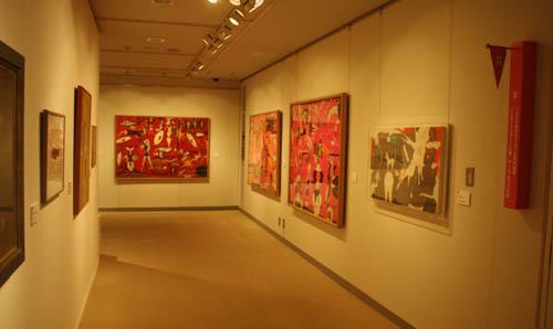 三鷹市美術ギャラリー企画・ 谷川晃一展・・・・・・_d0178448_5531077.jpg