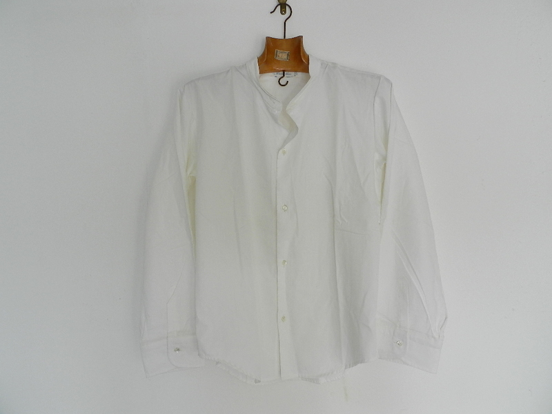 60\'s Italian marine white shirts dead stock resized_f0226051_11223943.jpg