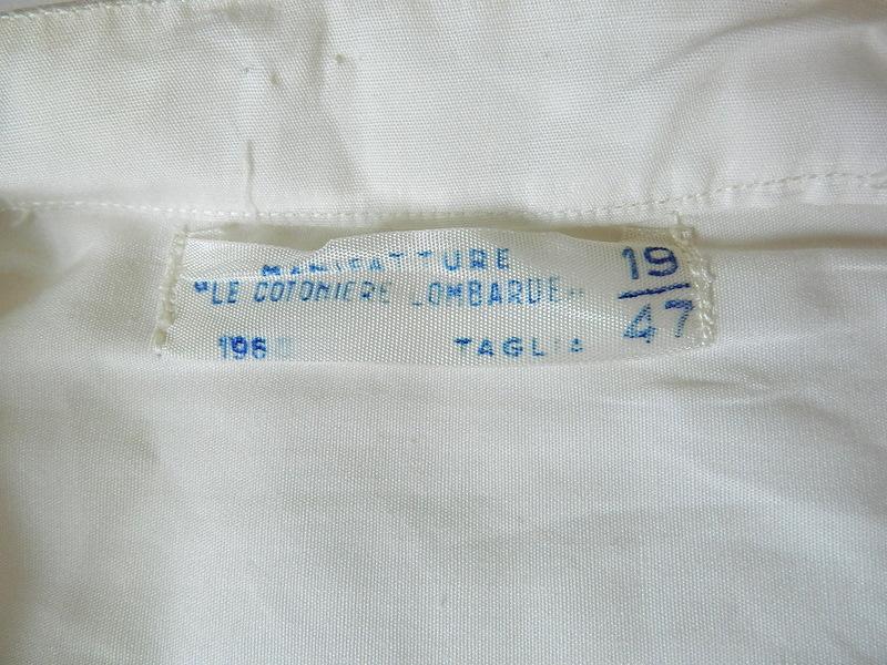 60\'s Italian marine white shirts dead stock resized_f0226051_11261889.jpg