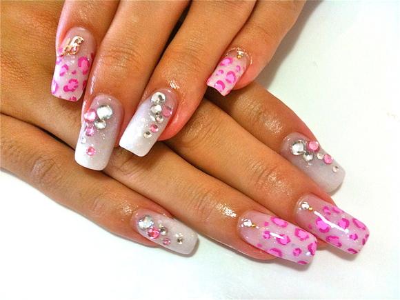 White Leopard Nail_a0239065_14114053.jpg