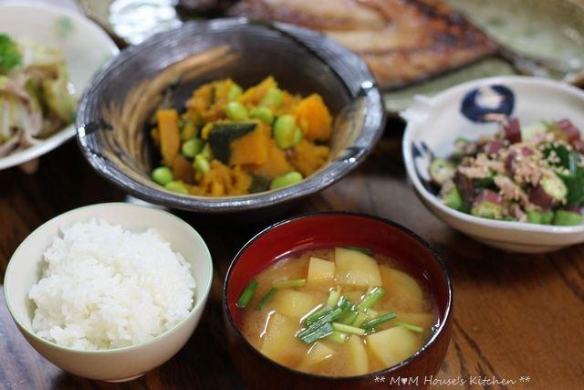 THE 和食 ☆ 中秋の名月♪_c0139375_1447338.jpg