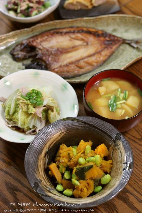 THE 和食 ☆ 中秋の名月♪_c0139375_1447947.jpg