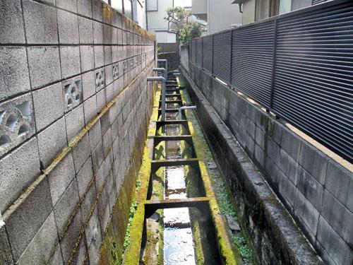 北沢川源流域/北沢分水を辿る(8)江下山堀の暗渠と開渠を辿る その2_c0163001_23123893.jpg