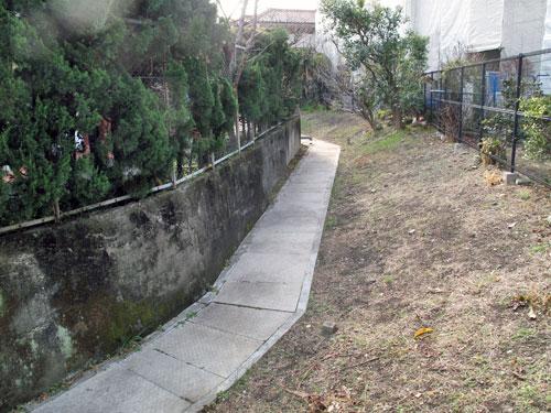 北沢川源流域/北沢分水を辿る(8)江下山堀の暗渠と開渠を辿る その2_c0163001_23124617.jpg