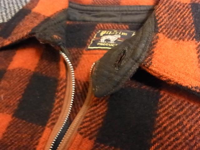 アメリカ仕入れ情報#39 50'S Pilgrim half zip wool shirts!_c0144020_11582851.jpg