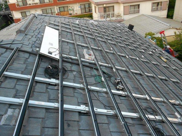 太陽光発電システム設置 京セラSAMURAI_e0207151_18284560.jpg
