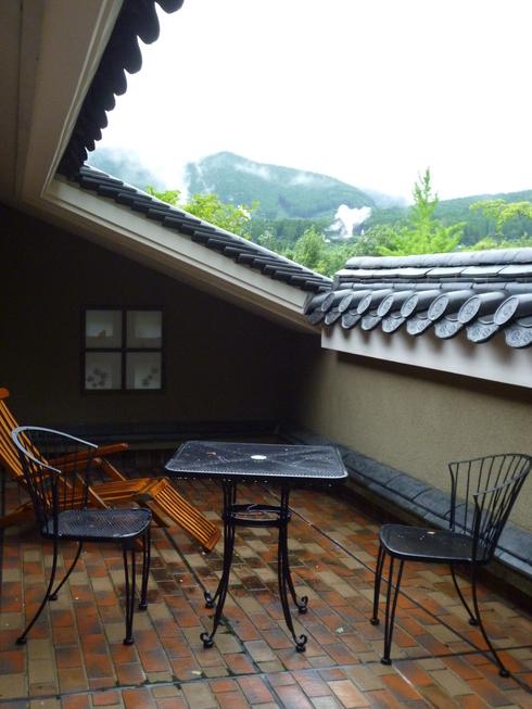 旅の中の小さな旅 湯布院 亀の井別荘_a0053662_1634296.jpg