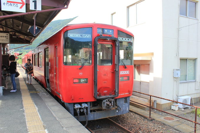 阿蘇駅からの帰り_d0202264_6524739.jpg