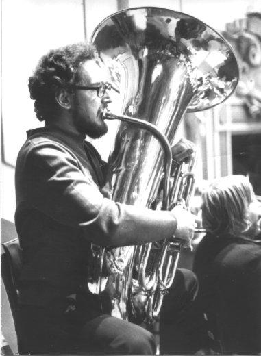 John Fletcher tuba