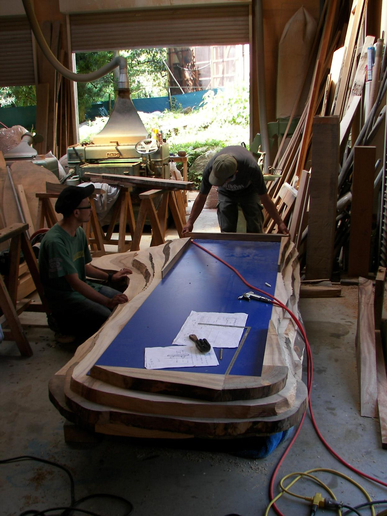 パティスリーのテーブルなど_f0171785_15183716.jpg
