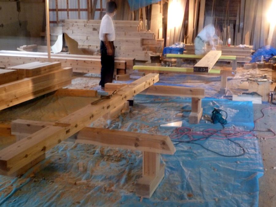 U様邸「清澄町の家」工事中です。_f0150893_1125949.jpg