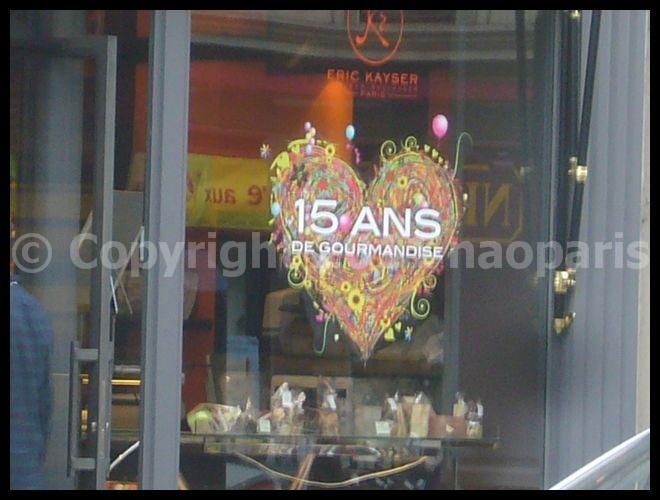 【Boulangerie Kayser】15周年Rue Monge 75005 Paris(PARIS)_a0014299_17595997.jpg