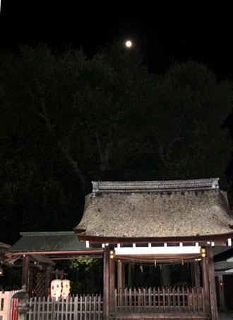十六夜の月 久我神社など_e0048413_12245981.jpg