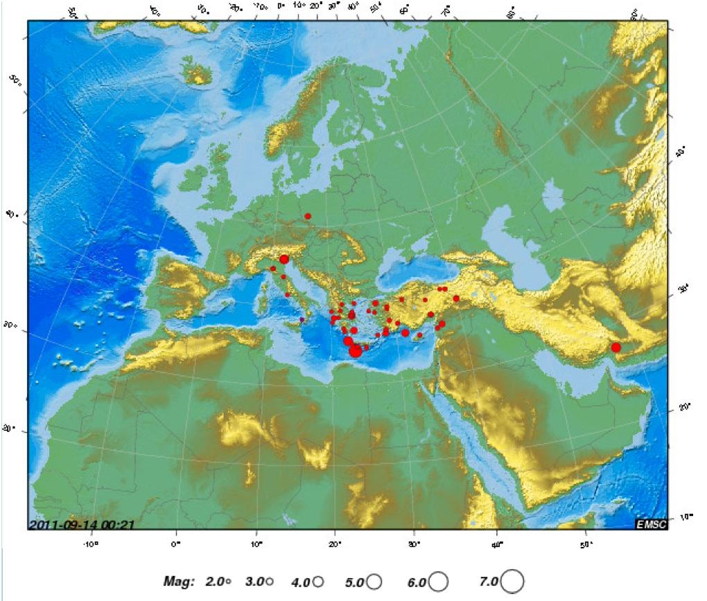 欧州の「謎の地下深部10km震源地の群発地震」:やはりHAARP地震兵器か?_e0171614_938996.jpg