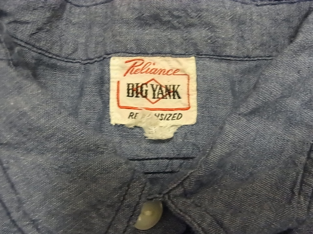 アメリカ仕入れ情報#50 BIGYANK 山ポケ シャンブレーシャツ!_c0144020_13302644.jpg