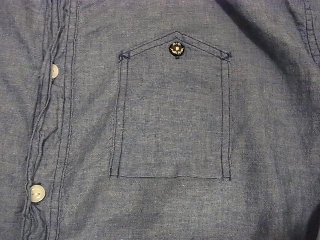 アメリカ仕入れ情報#50 BIGYANK 山ポケ シャンブレーシャツ!_c0144020_13305922.jpg