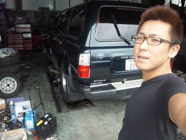 店長のニコニコブログ!N山様 ランクル100 ご成約☆_b0127002_2216529.jpg