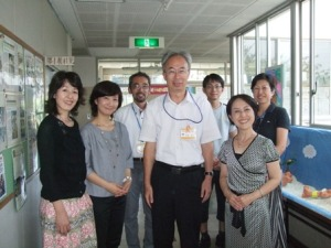 稲城第二小学校を訪問しました_e0088256_002277.jpg