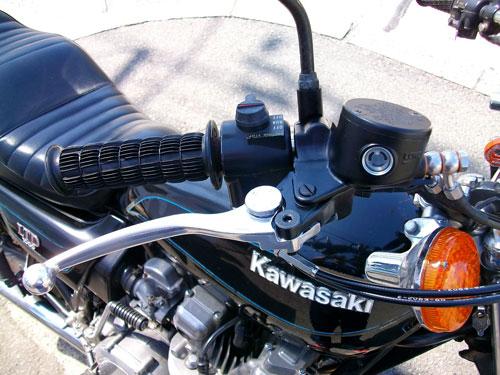 Z1000LTD Fフォーク・ブレーキ・キャブレターのグレードアップ♪_c0086965_1258331.jpg