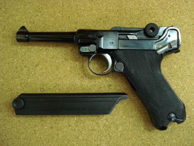 タナカ Luger P08 ガスガン_f0131995_10455288.jpg