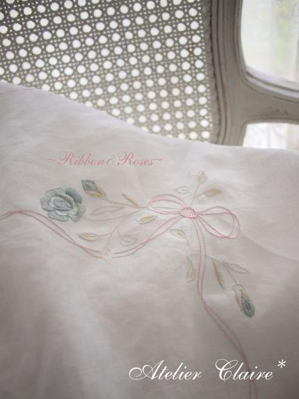 Ribbon&rosesのテーブルクロス_a0157409_7113849.jpg