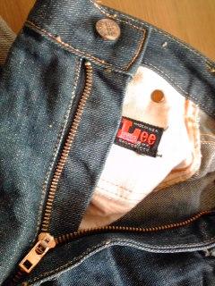60\'s Vintage Lee Denim Leens Slim_c0210815_1227495.jpg
