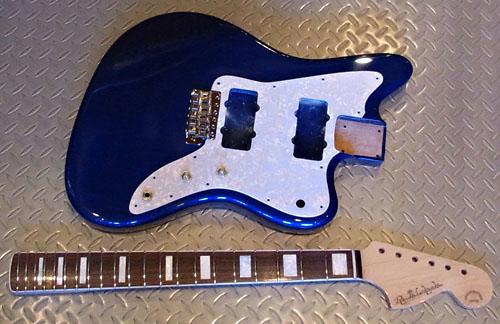 「Aqua Blue MetallicのPsychomaster」の塗装が完了〜!_e0053731_19174032.jpg