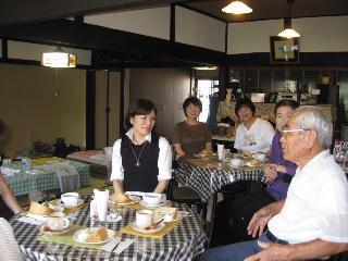 ファブリックステンシルの講習会とY田さんの誕生会をしました_c0134645_1371374.jpg